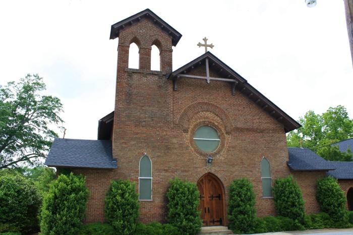 1.) St. Paul's Episcopal Church / Greensboro