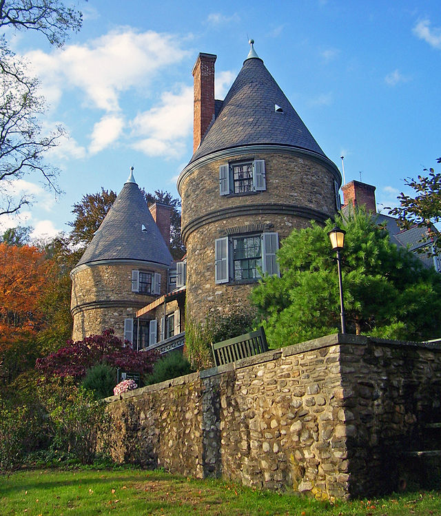 8. Grey Towers National Historic Site, Milford