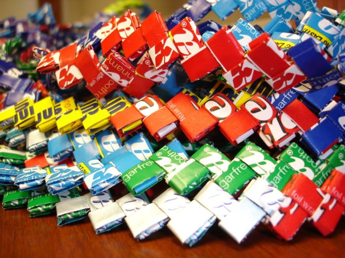 Longest Gum Wrapper Chain