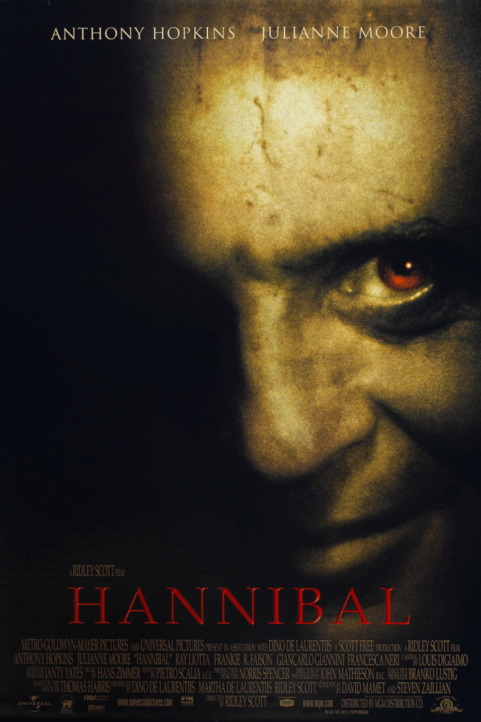 Hannibal: The poster is creepy enough without thinking of him roaming the streets of Richmond.