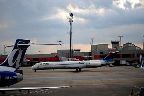 10. Travel through Hartsfield Atlanta Airport.