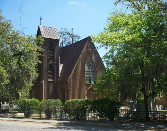 12. Church of the Holy Apostles, Barnwell, SC