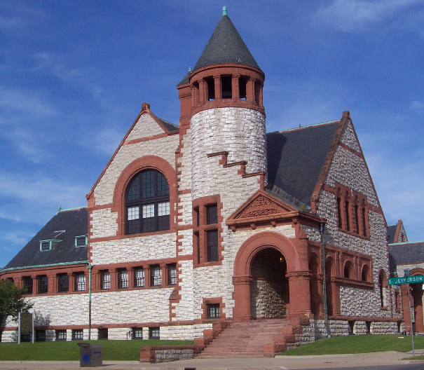3) Hoyt Public Library, Saginaw