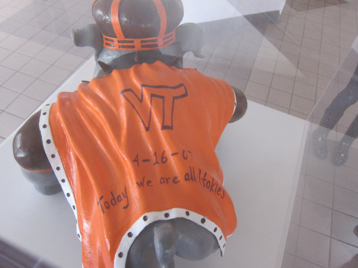 "Support from James Madison University's ""Duke Dog"", April 17, 2011"