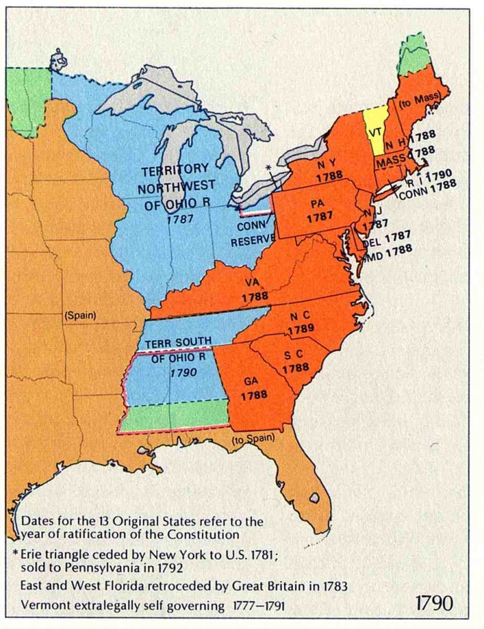 6. Kentucky and West Virginia used to be Virginia, too.