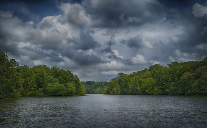 13 gorgeous virginia lakes that are a must see this summer for Lake gaston fishing