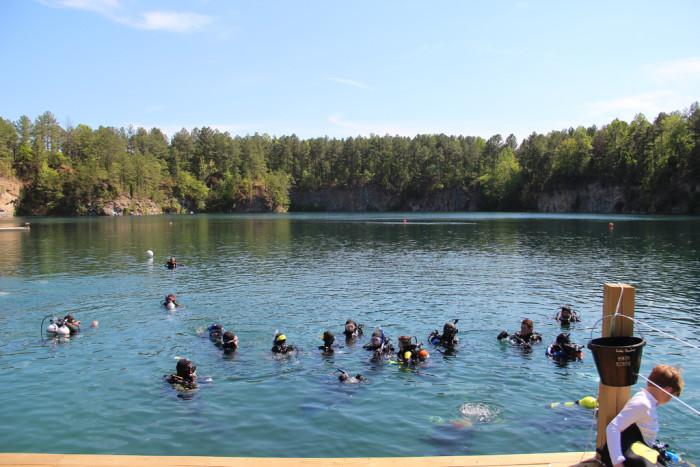 2. Lake Rawlings, Rawlings