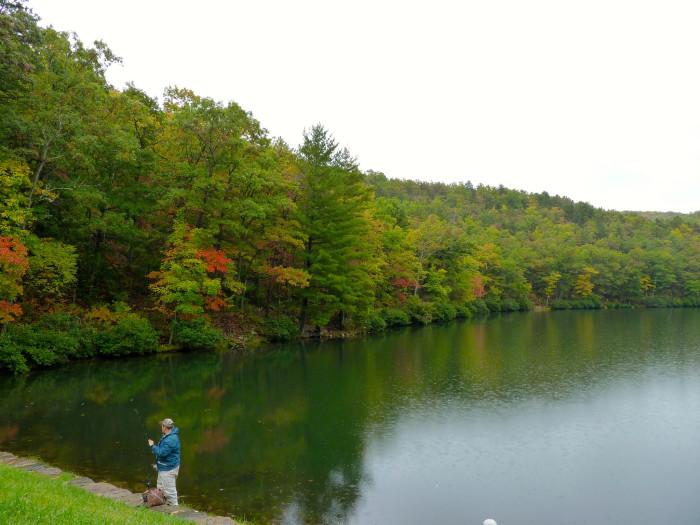 8. Sherando Lake, Lyndhurst (George Washington National Park)