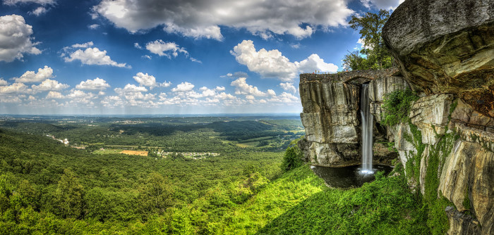 8. Lovers Leap at Lookout Mountain