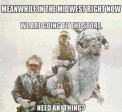 6) If they only consider it a little chilly when the temperature hits ZERO.