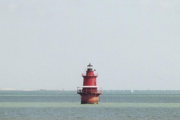 8. Newport News Middle Ground Lighthouse, Hampton Roads