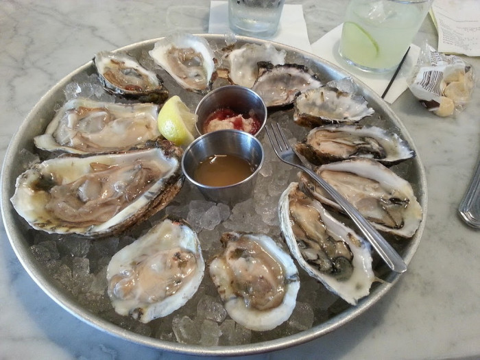 5. Oysters. You love them or you hate them. We choose love.