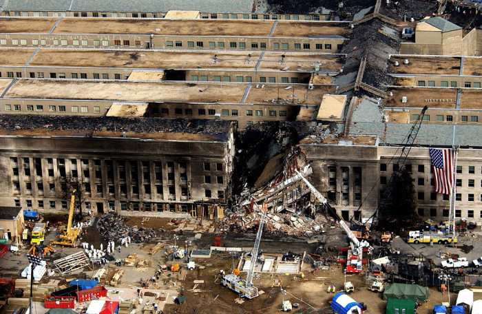 9. September 11 at the Pentagon, 2001