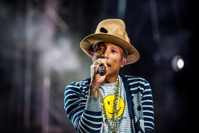 8. Pharrell Williams (singer, songwriter, producer, fashion designer), Virginia Beach