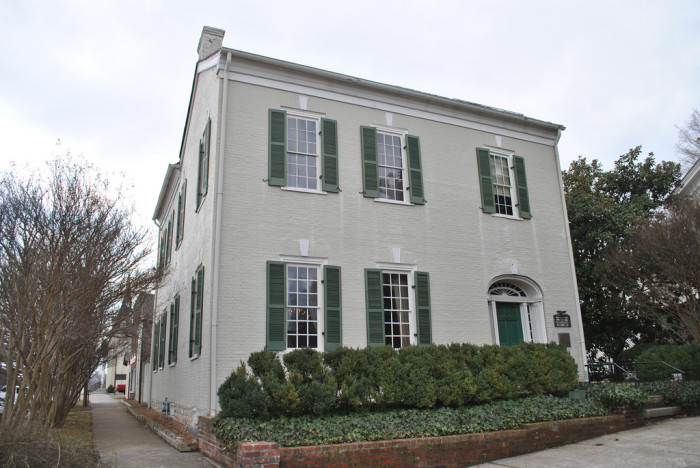 18) Columbia, Tennessee is where you'll find the ancestral home of James K. Polk. Interesting fact? It's the only home of his that has survived other than the White House.