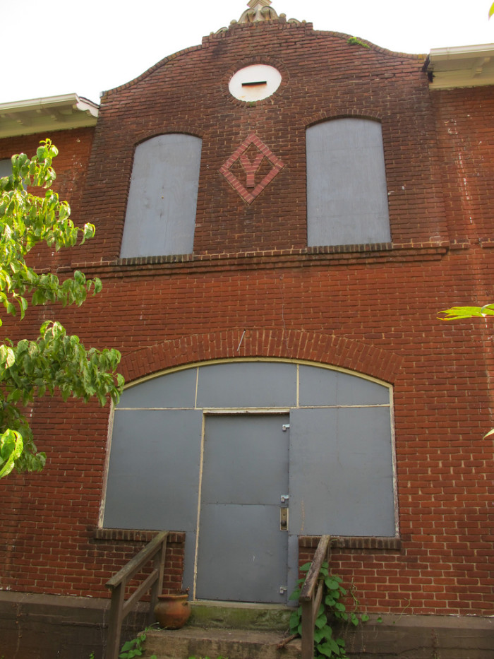 15. The J.S. Young Extract Company building in Charlottesville didn't go down without a fight. It was only open as an extract plant from 1916 - 1920, but since then, it has served as apartments, as well as the pet project for more than one would-be renovator. Sadly, nothing seems to stick.