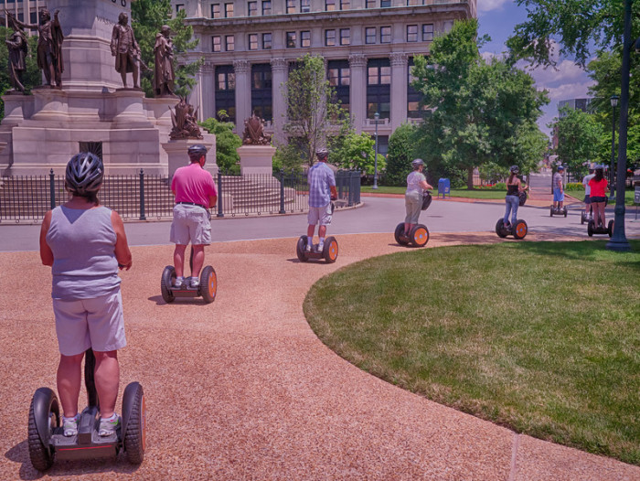 11.Tour the city by Segway.
