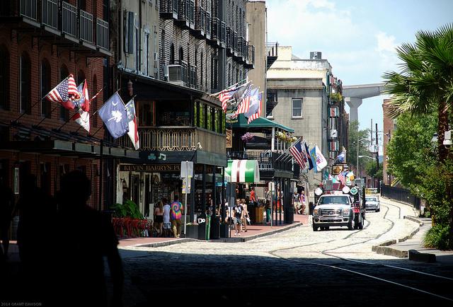 14. Go to Savannah's Riverwalk Street.