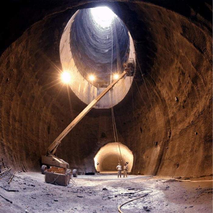 3) Superconducting Super Collider - Waxahachie