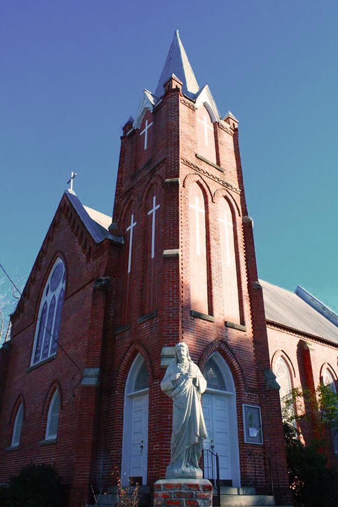 17.  Sacred Heart Catholic Church, Blackville, SC