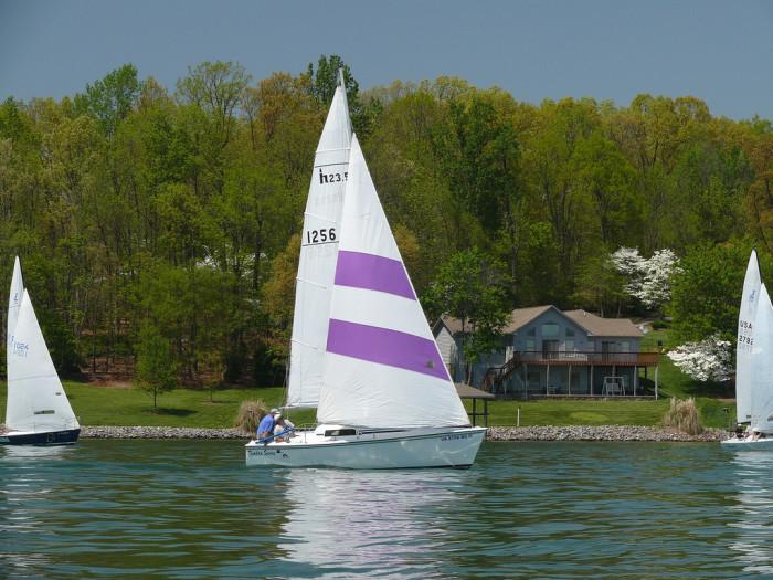 Sailing Smith Mtn Lake 2