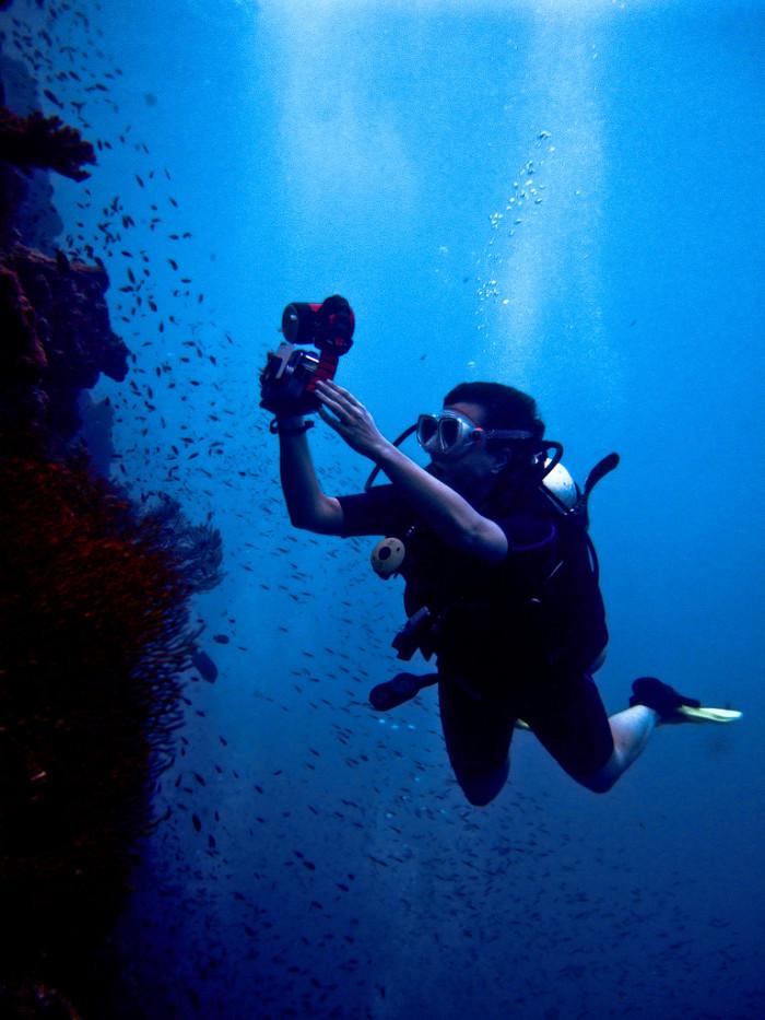 3) Scuba Diving?!
