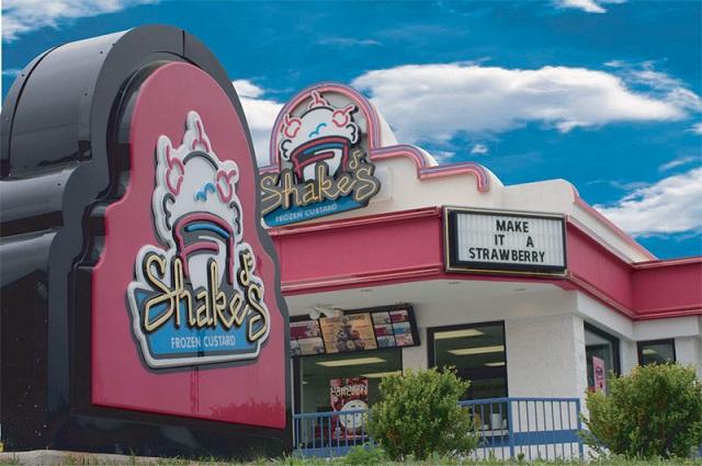 6.) Shake's Frozen Custard - Foley