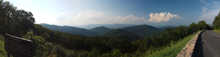 6. Great Outdoors Road Trip: Hiking and Camping along Skyline Drive