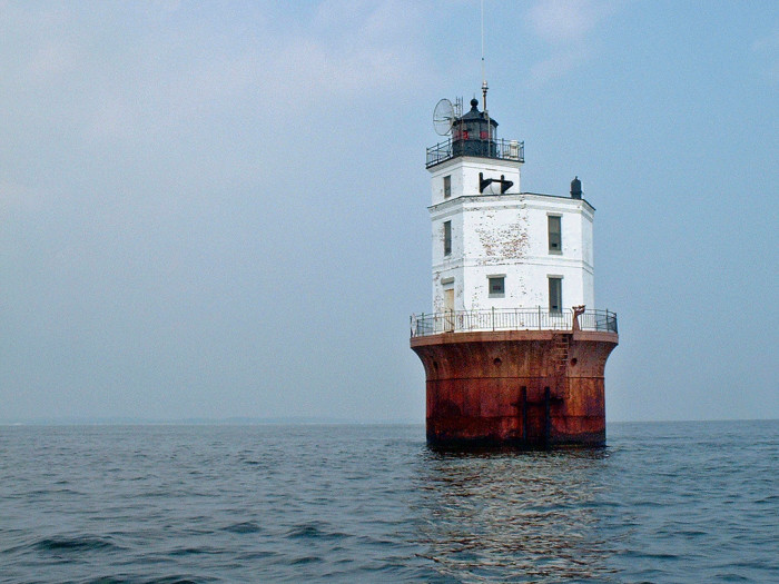 9. Smith Point Lighthouse, Chesapeake Bay