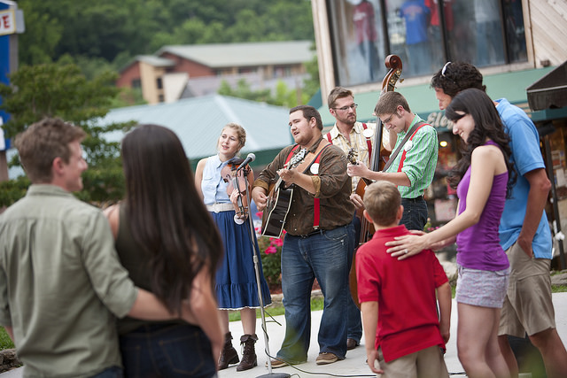 9) Gatlinburg is a neat town in itself, but with free seasonal performances by the Smoky Mountain Tunes and Tales crew? It just went up a notch in our book.