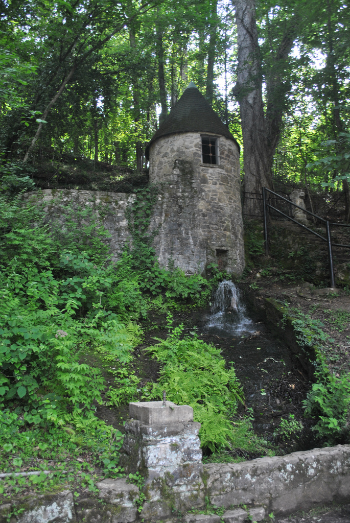 3) Located in Rock Island State Park, the Spring Castle is actually a large spring house, a building used as a form of refrigeration when the cotton mill on the property was running.