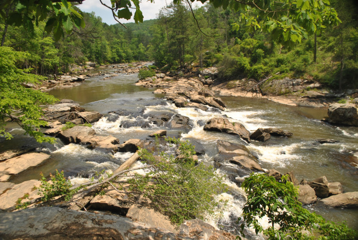 17. Sweetwater Creek State Park