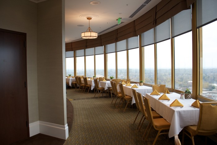 7. Our Very Own Revolving Rooftop Restaurant
