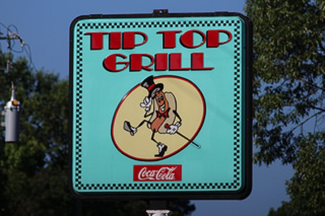 10.) Tip Top Grill - Hoover