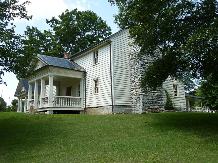 12) The Tipton-Haynes House is made up of 45 acres, a cemetery, a nature trail, more than ten historic buildings and a wonderful tour to tell you about it all. Colonel John Tipton, the namesake and original owner of the property, helped with the development of Tennessee.