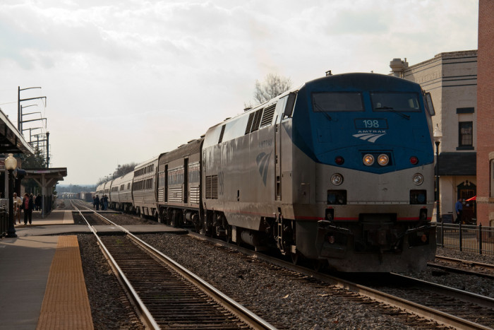 4. The Road Trip For People Who Hate Driving: Take a Train