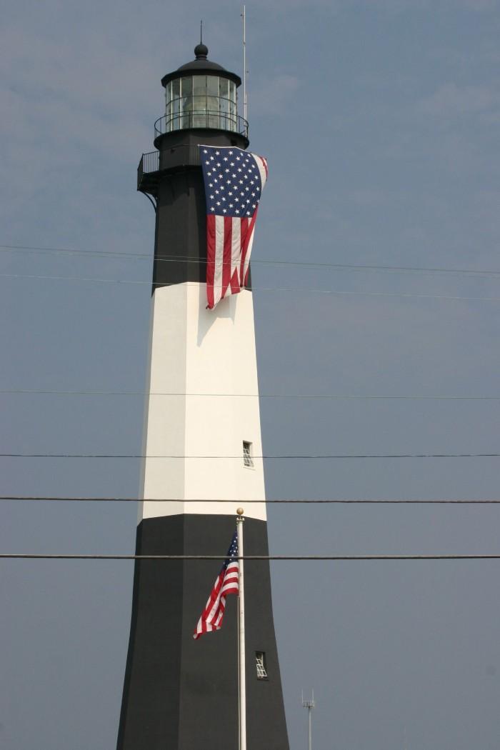 2. Tybee Island Lighthouse in Savannah, Georgia