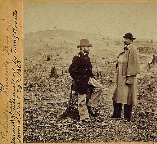 1) Fort Sanders union engineers are seen here in November of 1863.