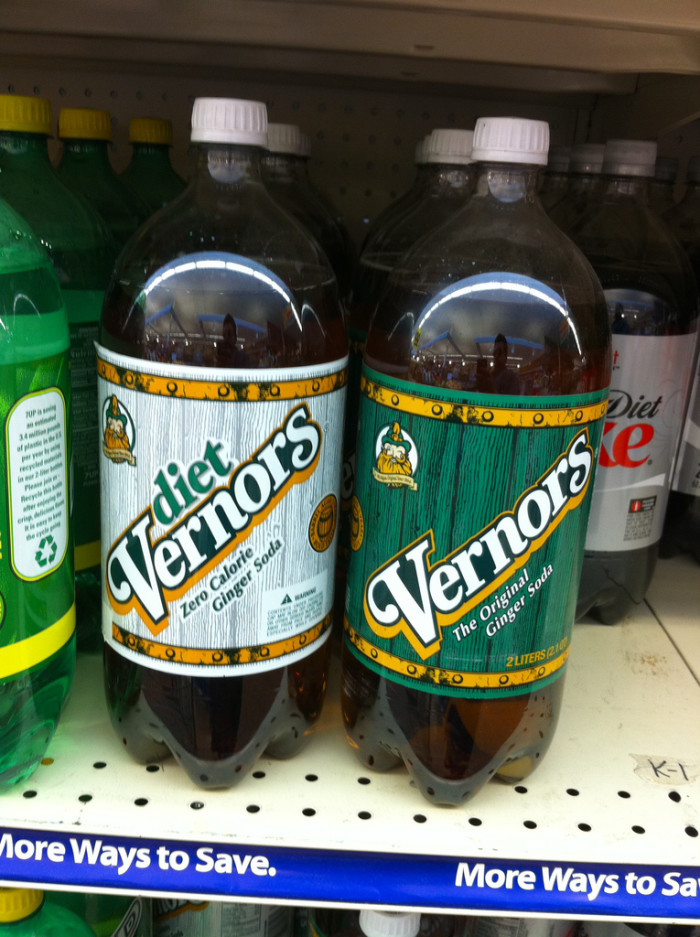 4) When their catch-all cure is Vernors.