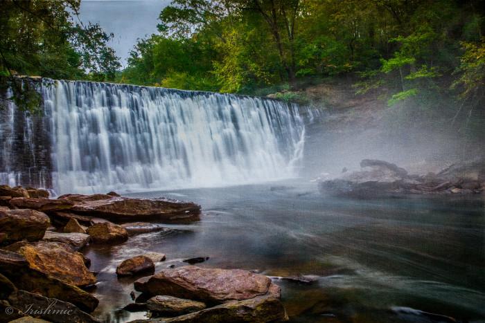 2. Vickery Creek Falls in Roswell GA