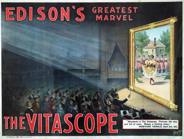 11. Edison's Vitascope