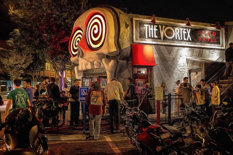 19. Go to quirky Little Five Points and eat at the Vortex.