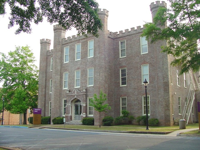 6.  Wesleyan Hall (Florence, AL) - Located only a few miles from where I live, Wesleyan Hall is part of the University of North Alabama (UNA) campus.  Like the Weaver House, Wesleyan Hall is also rumored to be haunted.  Supposedly the ghost of a Civil War general's son haunts the building during the night hours.