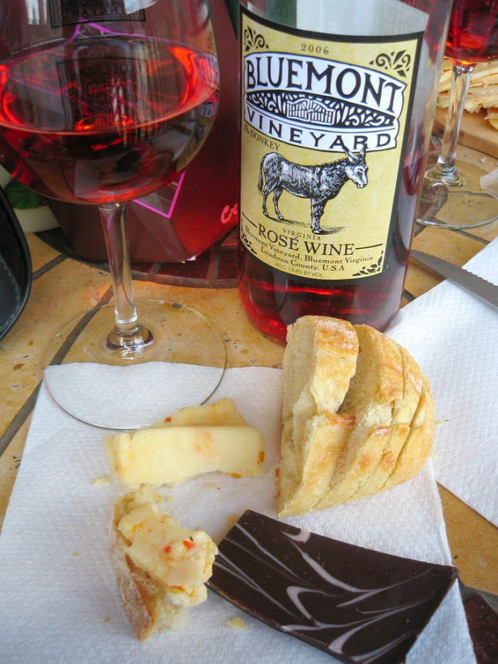 12. Wine and cheese are two of your favorite food groups.