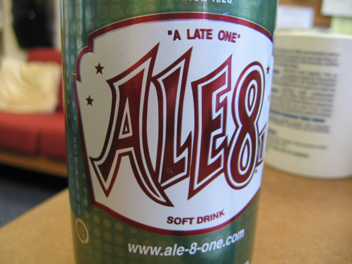 6. Ale-8. Bottled in Winchester, Kentucky since 1926, this delicious beverage is something to be proud of.