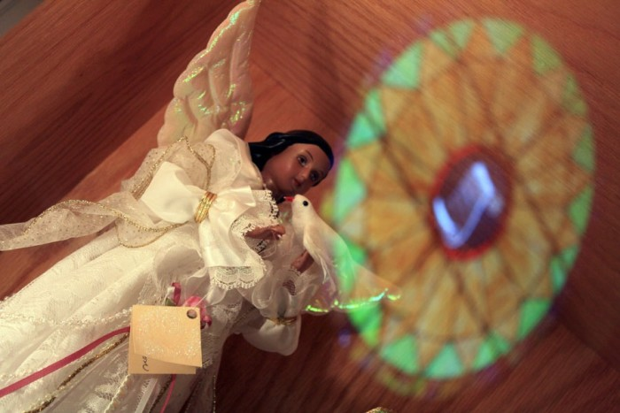 8. The Angel Museum. It's only moderately creepy. Be sure to check out the angels donated by Oprah!
