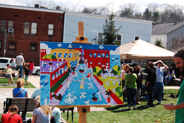 5) The Greenbrier Artists Chocolate Art Show and Sale takes place at the Lewisburg Chocolate festival.