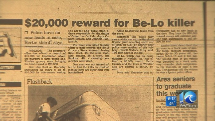2. The Be-Lo Murders, Windsor, 1993