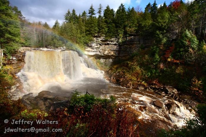2) Visit the waterfalls of West Virginia!