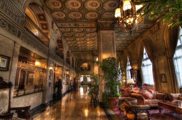 7. The Brown Hotel: Another fancy place to stay in Louisville, original owner and founder, John Graham still makes appearances from time to time. The elevator frequently stops on the 15th floor where he used to reside and footsteps and moving furniture have also been reported.
